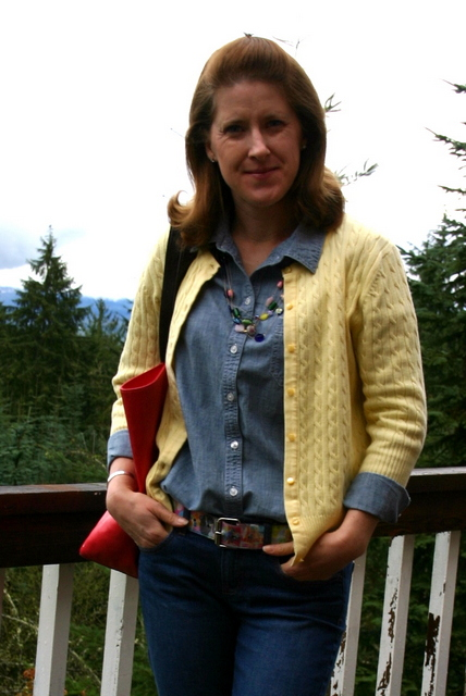 What I Wore Wednesday – Chambray Challenge day 3  d566df0ab